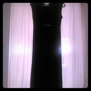 Long black dress, size small by Michael Kors.